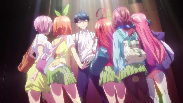 [REVIEW ANIME] Gotoubun No Hanayome - Anime Harem Dengan 5 Gadis Kembar 5