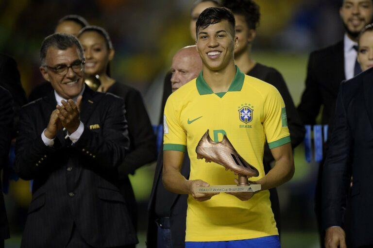 Kaio Jorge, Titisan Ronaldo dari Santos Brasil 1