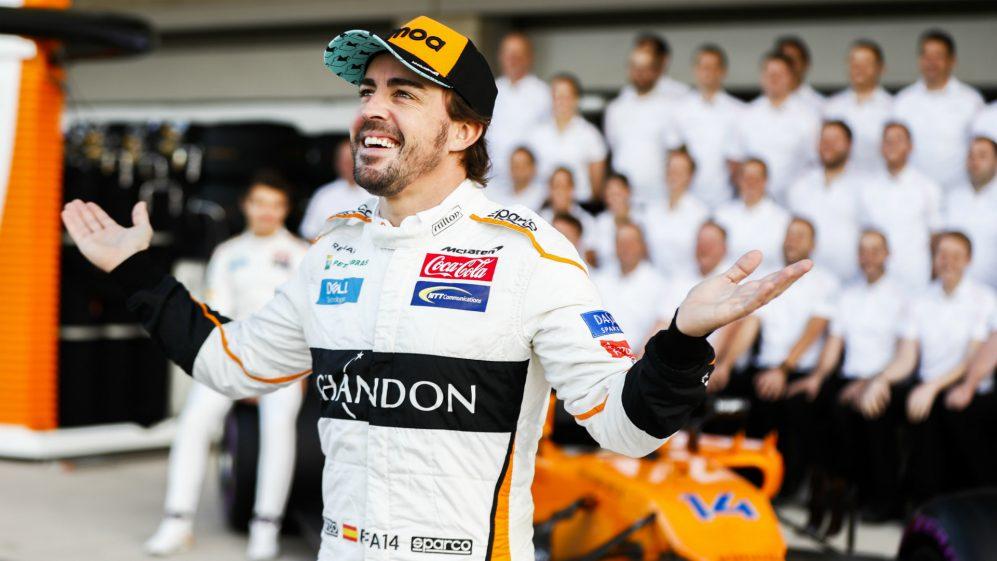 Alonso di Mclaren. Sumber: Formula1