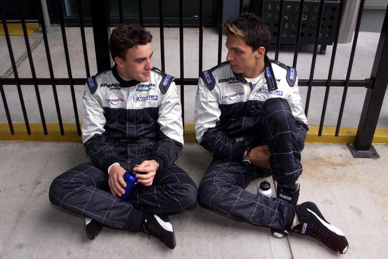 Alonso di Minardi. Sumber: Formula1