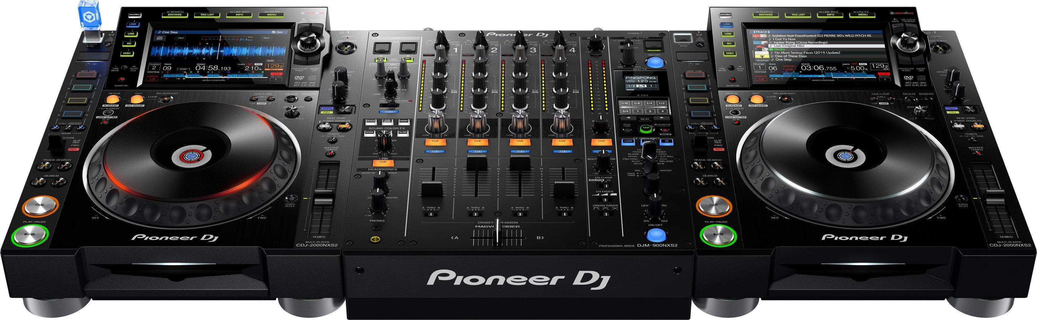 Cdj & mixer merk pioneer type Djm-900nxs2