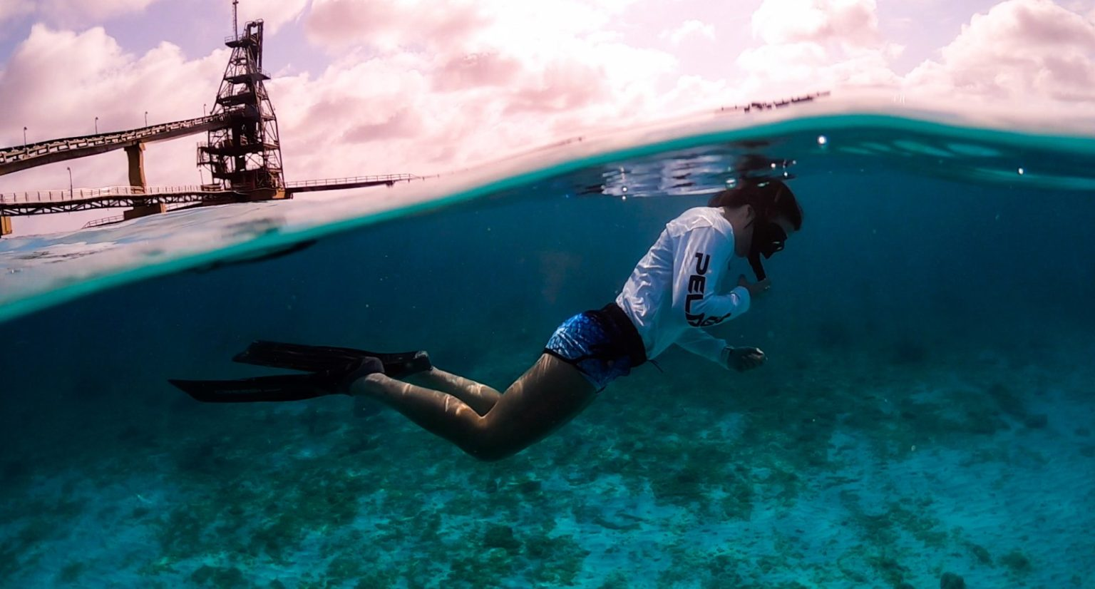 Menyelam snorkeling di Bonaire. (Dok. www.seasidewithemily.com)