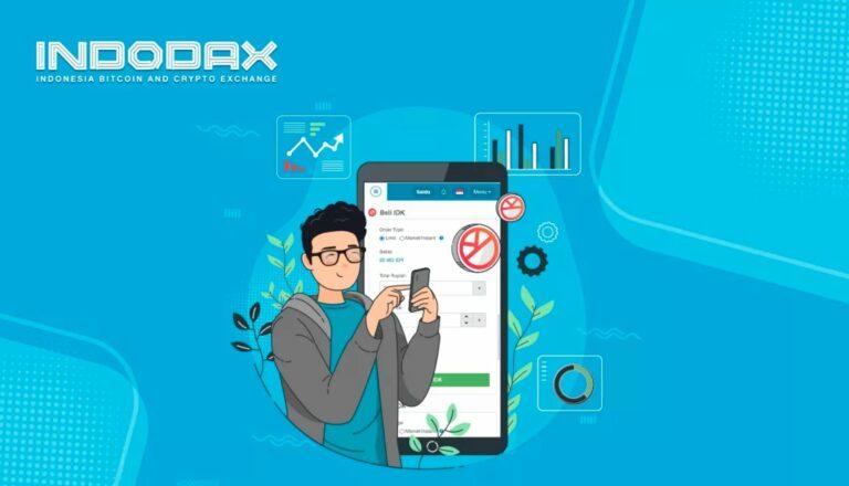 Cara Daftar Akun Indodax di Android 1