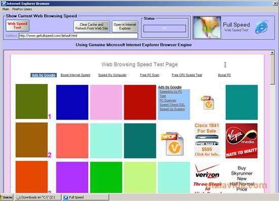 full speed software percepat koneksi internet