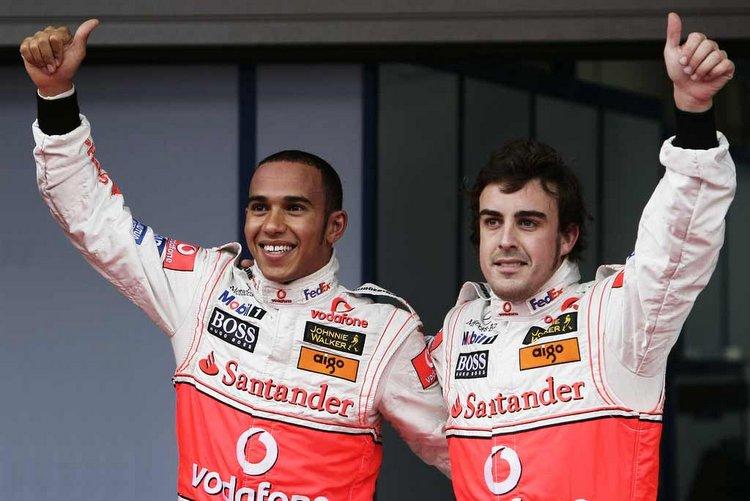 Alonso di Mclaren. Sumber: Grandprix247