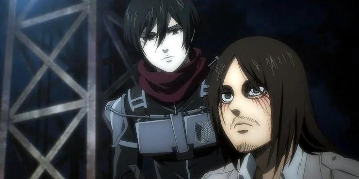 6 Fakta Mikasa Ackerman dari Attack on Titan 4