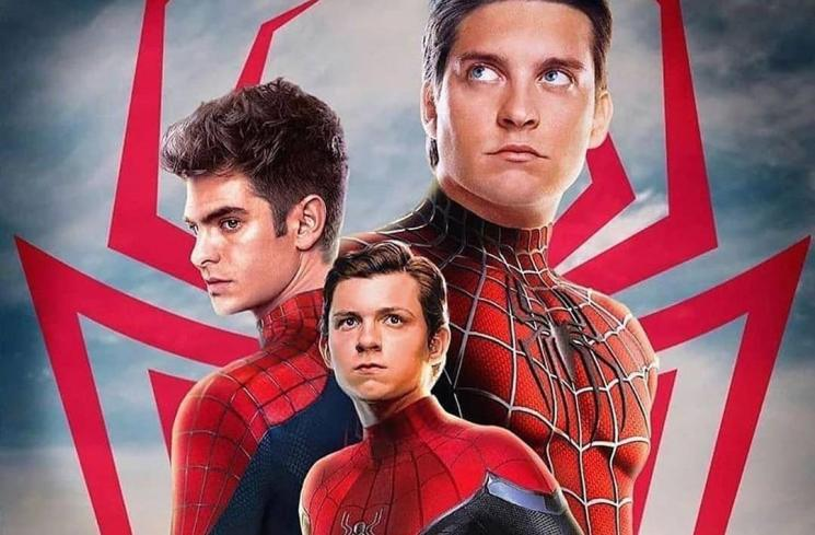 Spider-Man dengan 3 pemeran yang berbeda
