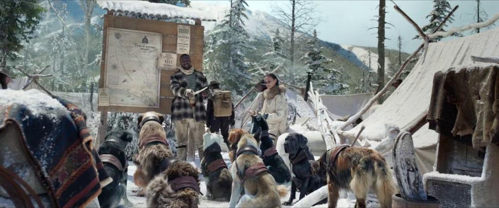 Perrault mengajarkan kawanan anjingnya mengenai rute yang harus ditempuh
