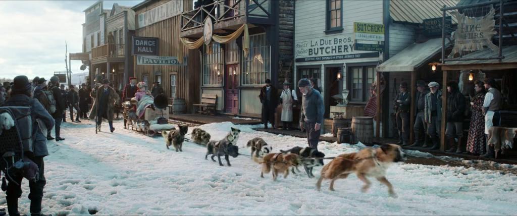 Buck beserta kawanannya dengan majikan yang baru