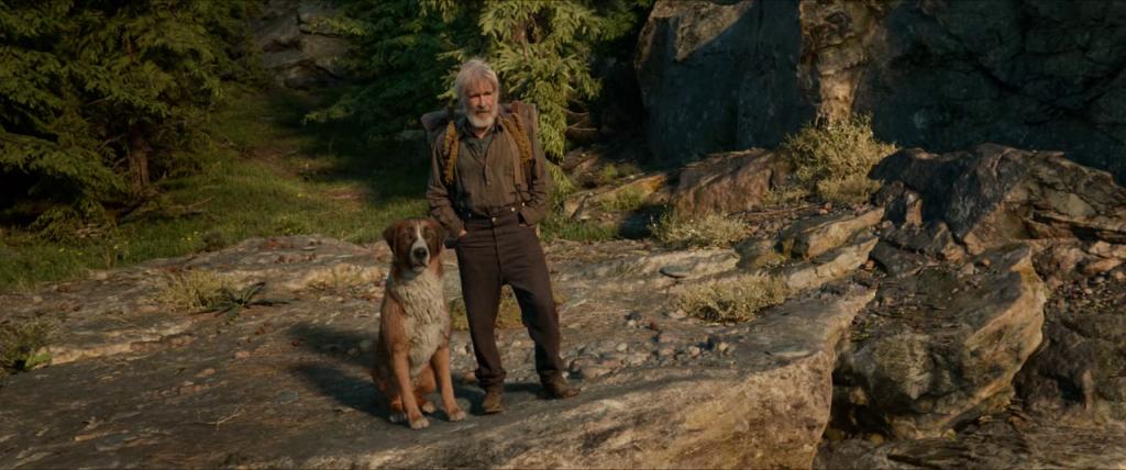 Buck dan John melakukan petualangan