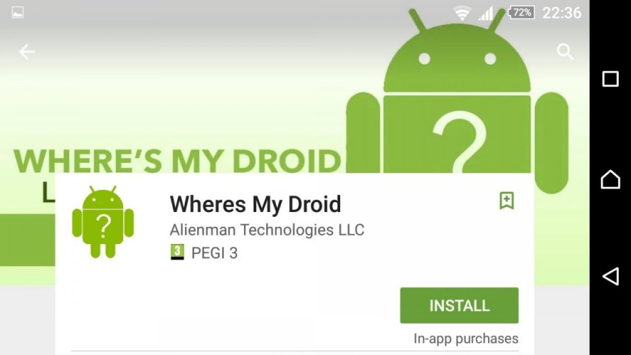 Where's My Droid