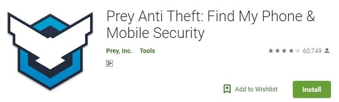 Prey Anti-Theft