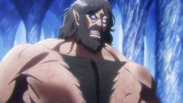 Wujud Attack Titan milik Grisha