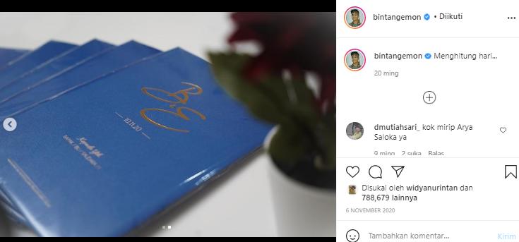 Postingan Bintang Emon di akun Instagram miliknya.