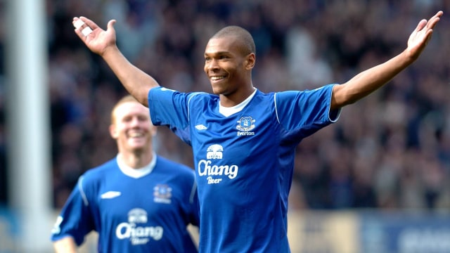 Marcus Bent saat berseragam Everton