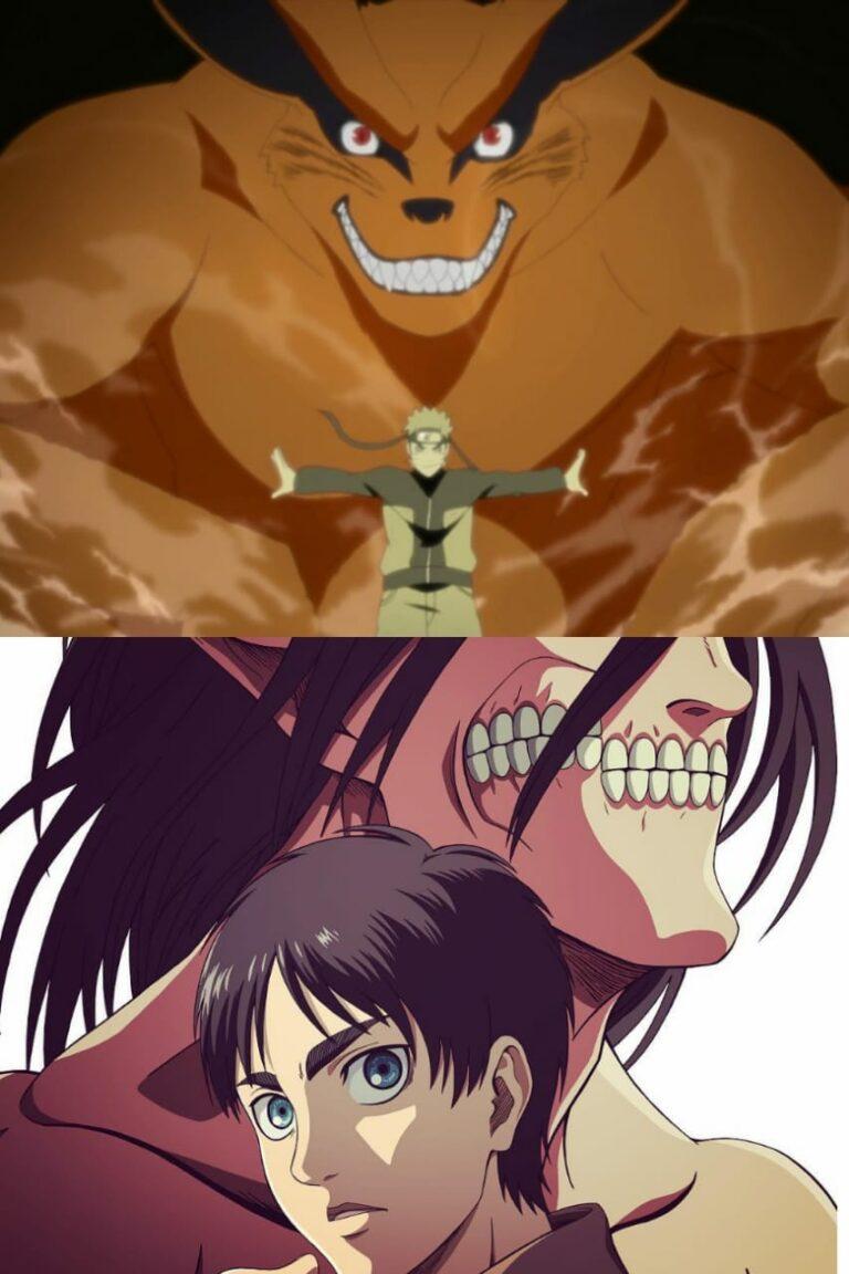 Apa Saja Cerita Attack On Titan Yang Mirip Dengan Naruto? Ini Jawabannya 1