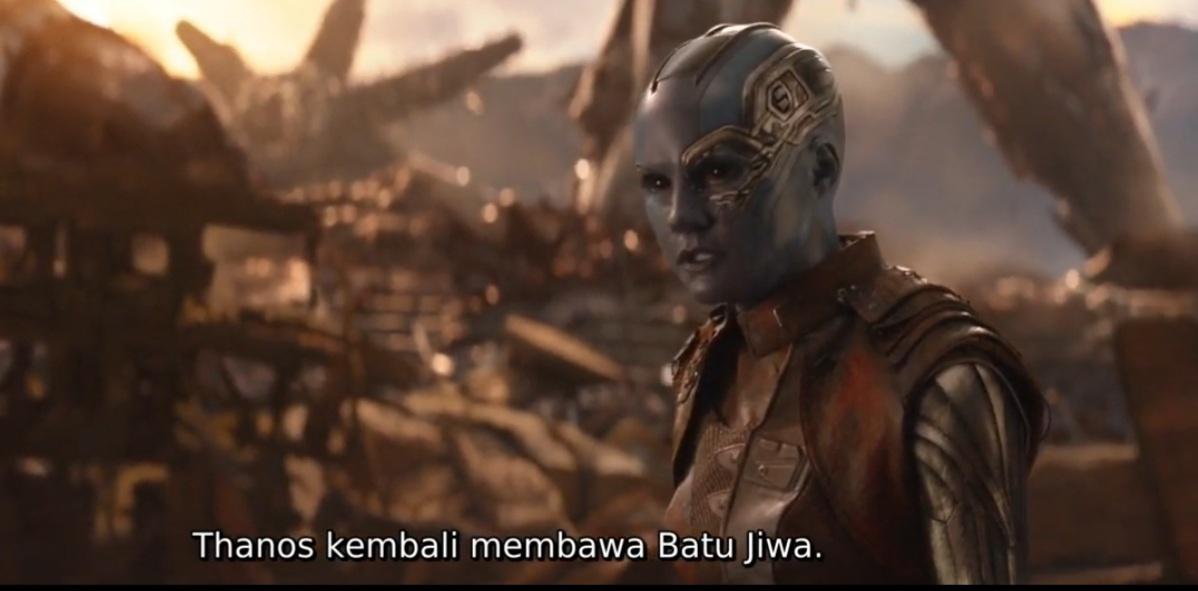 Mengapa Nebula tidak memberitahu Avengers jika untuk mendapatkan Soul Stone membutuhkan pengorbanan jiwa? 4