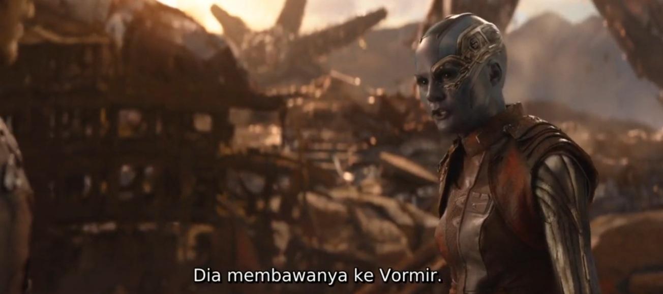 Mengapa Nebula tidak memberitahu Avengers jika untuk mendapatkan Soul Stone membutuhkan pengorbanan jiwa? 3