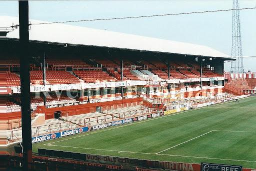 Roker Park markas klub Sunderland sebelum dirobohkan
