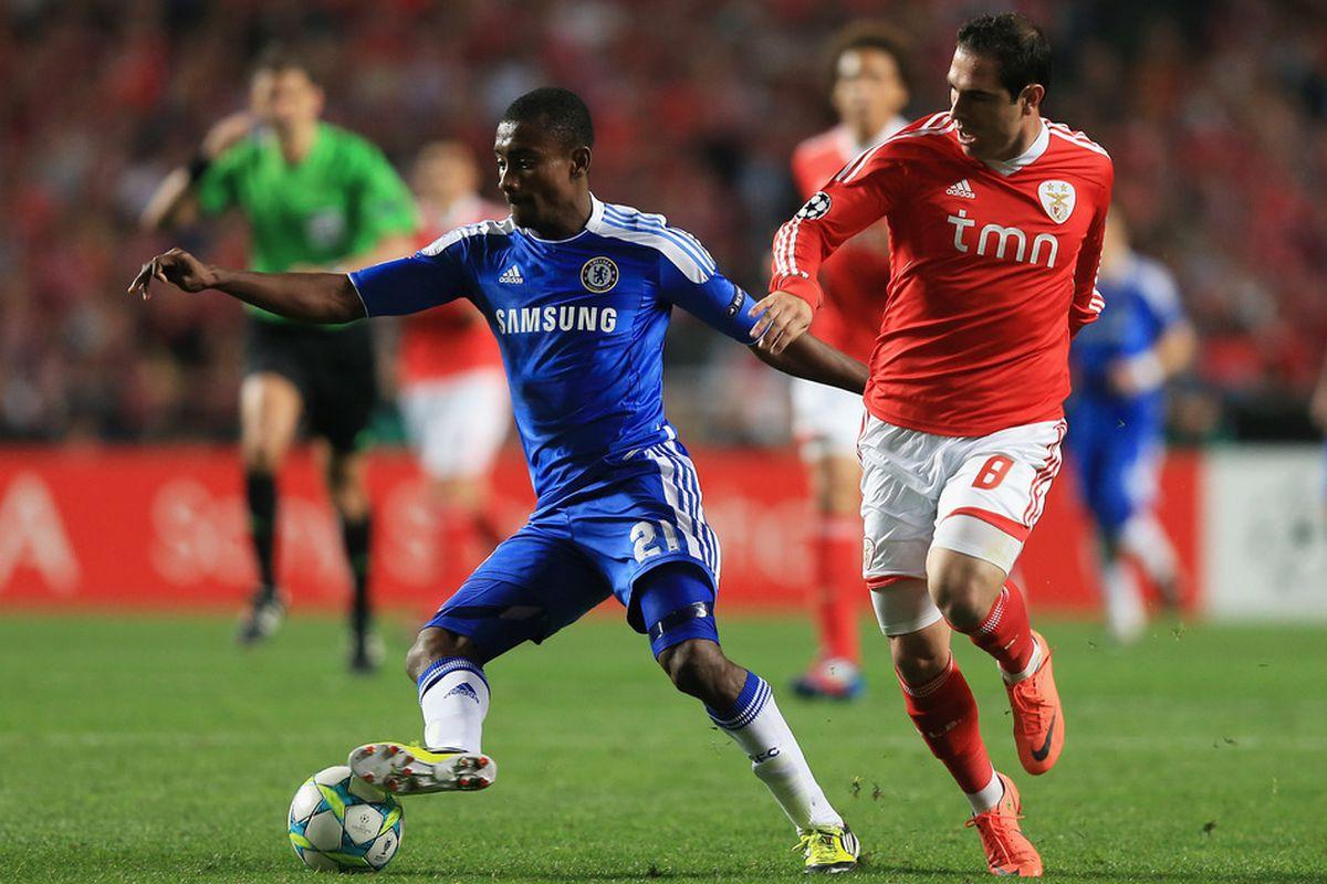 Chelsea vs Benfica tahun 2012