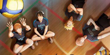 2,43 Seiin Koukou Danshi Volley-bu dibandingkan dengan Haikyuu!! 20