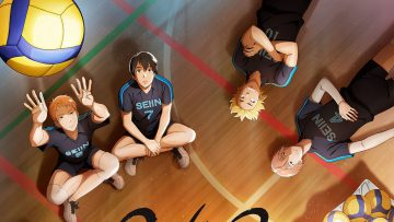 2,43 Seiin Koukou Danshi Volley-bu dibandingkan dengan Haikyuu!! 5