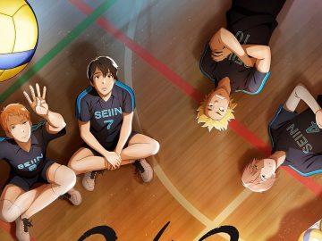 2,43 Seiin Koukou Danshi Volley-bu dibandingkan dengan Haikyuu!! 17
