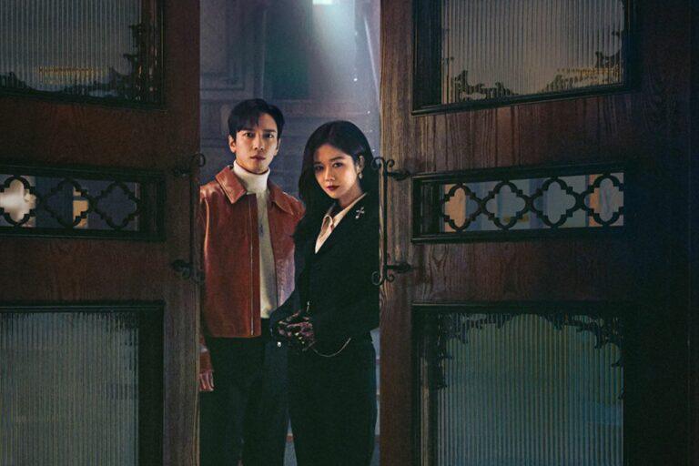 Jang Na-Ra dan Jung Yong-Hwa CNBLUE di Drama Sell Your Haunted House 1