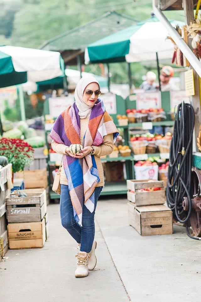 Makin Kekinian dengan 9 Outfit ala Hijabers 5