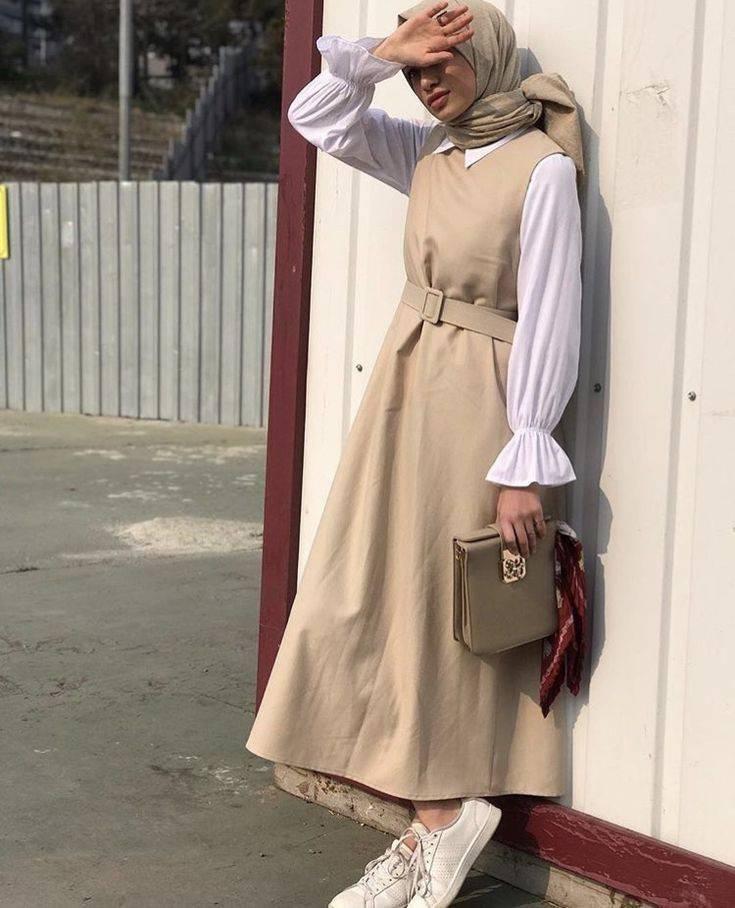 Makin Kekinian dengan 9 Outfit ala Hijabers 8