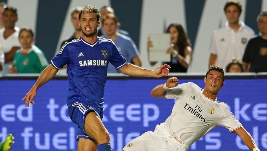 Chelsea saat bertemu Reaal Madrid