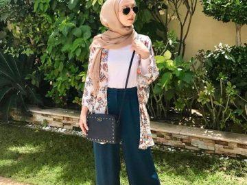 Makin Kekinian dengan 9 Outfit ala Hijabers 12