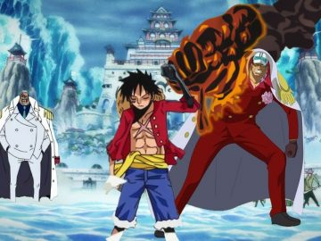 Apakah Busoshoku Haki Sengaja Dibuat agar Luffy dapat Mengalahkan Akainu? 7