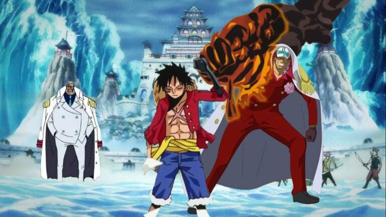 Apakah Busoshoku Haki Sengaja Dibuat agar Luffy dapat Mengalahkan Akainu? 1