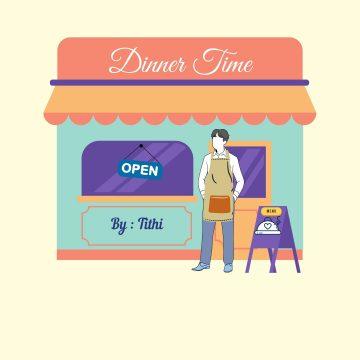Dinner Time (Cinta Dalam Diam) 14