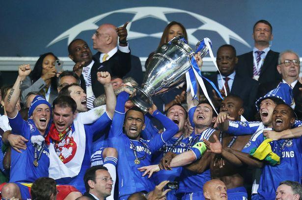 Chelsea saat juara Liga Champions 2012