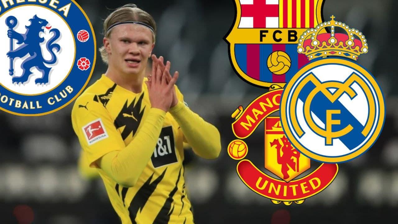 Haaland diincar beberapa klub besar Eropa lainnya