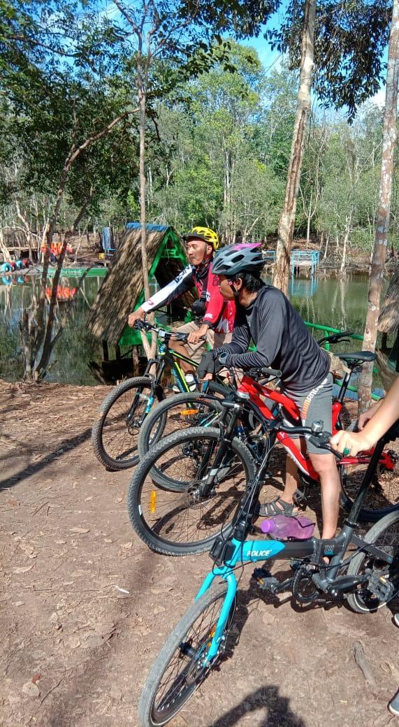 Photo. 5. Danau Shuji Nan Eksotis Ds Lembak Kab Muara Enim