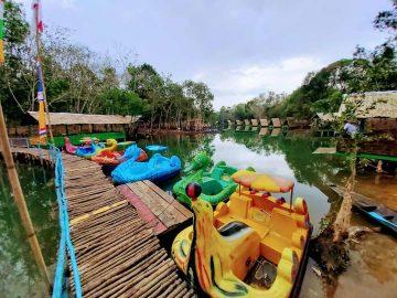 Danau Shuji nan Eksotis Ds Lembak Di Kab Muara Enim 8