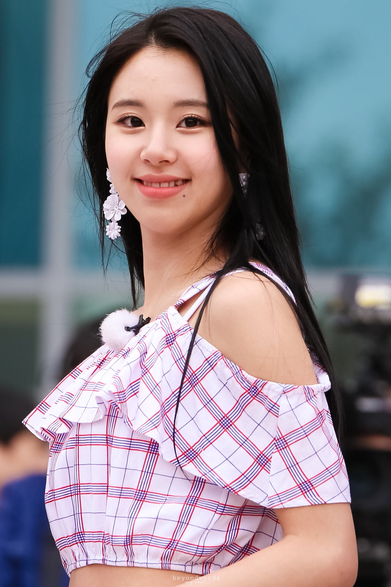 Potret Son Chaeyoung