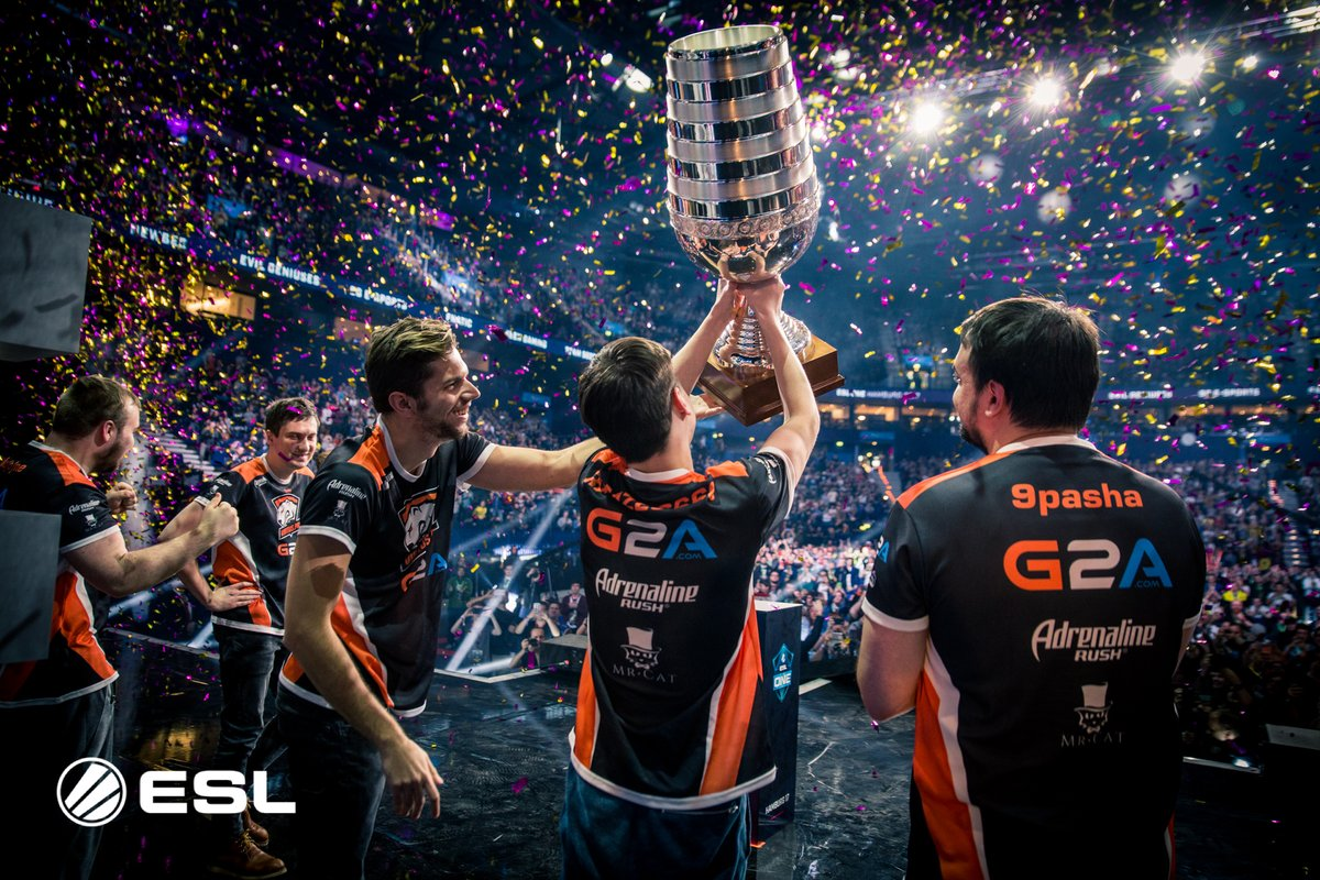 Virtus Pro menang major CSGO. Sumber: ESL