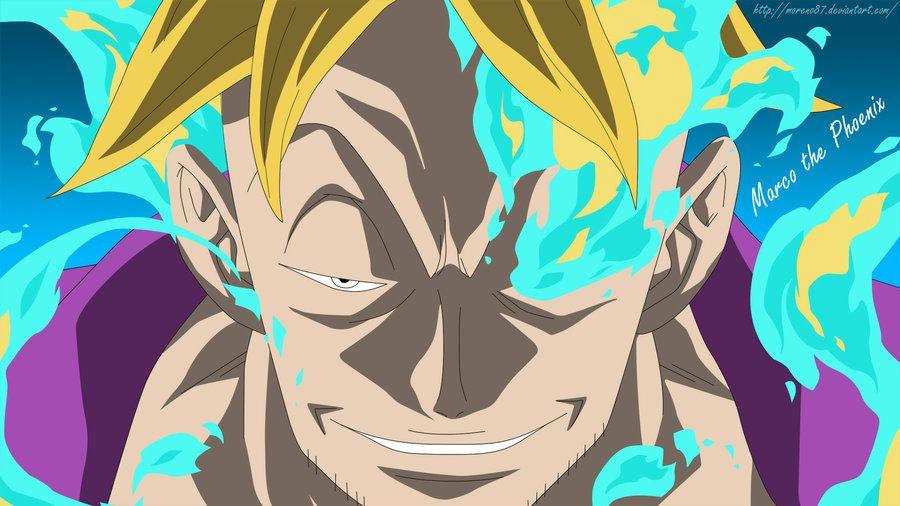 Marco the Phoenix One Piece. Sumber: pinterest.com