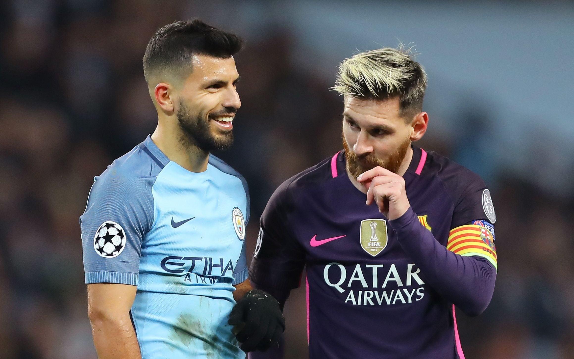 Alasan Aguero Akan Wujudkan Mimpi Satu Klub dengan Messi 5