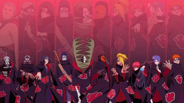 Kematian Para Anggota Akatsuki versi Anime Naruto 1
