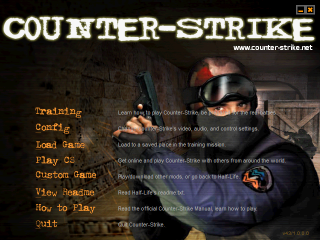 Counter Strike 1.0. Sumber: Steamcommunity