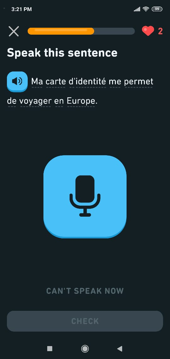 Sumber: aplikasi Duolingo
