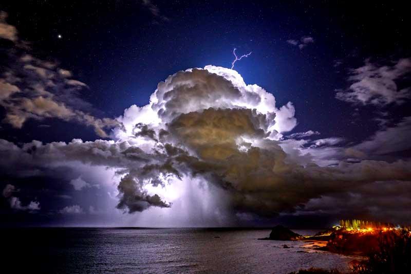 Fenomena cuaca yang dibahas dalam meteorologi