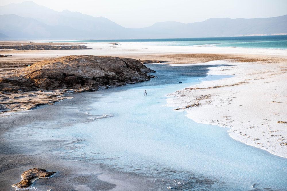 Danau Assal di Djibouti. (Photo: Alexander Bee/Shutterstock)