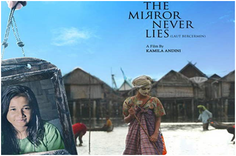 Poster Film The Mirror Never Lies
