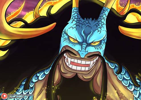 Potret Kaido dalam mode hybrid